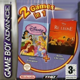 Disney Principesse & Il Re Leone Nintendo GBA USATO