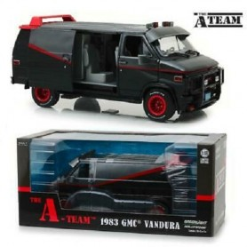 A-TEAM - DieCast Furgone GMC 1983 Scala 1/18