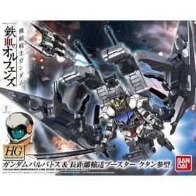 Bandai HG Gundam model kits (007) gundambarbatos