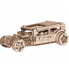 Hot Road Car Kit Legno - Wooden.City - Model Kit