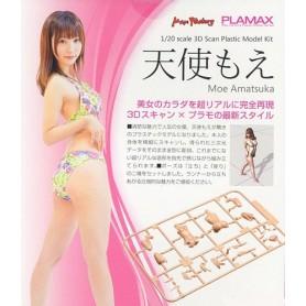 Plamax Naked Angel: Moe Amatsuka (model kit)