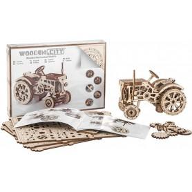 Vehicles Tractor Kit Legno - Wooden.City - Model Kit