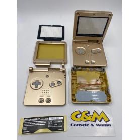 Case ricambio completo per Nintendo Game Boy Advance SP Gold
