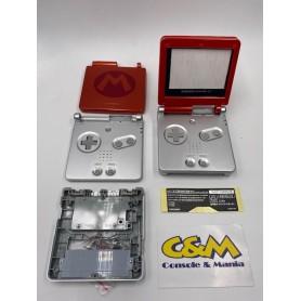 Case ricambio completo per Nintendo Game Boy Advance SP MARIO