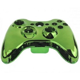 Case Controller with Buttons Chrome Green XONE