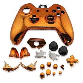 Case Controller with Buttons Chrome ORANGE XONE