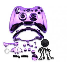 Case Controller with Buttons Chrome Purple XONE