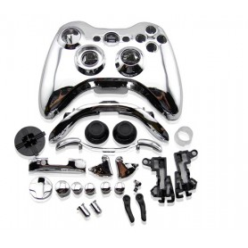 Case Controller with Buttons Chrome Silver XONE