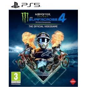 Monster Energy Supercross 4 PS5 (OFFERTA)