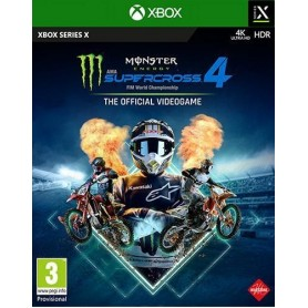 Monster Energy Supercross 4 XBOX/SX