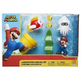 Nintendo Super Mario Diorama Set Underwater