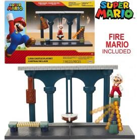Nintendo Super Mario Playset Castello di Lava