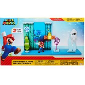 Nintendo Super Mario Super Mario Playset Underwater 2.5-Inch
