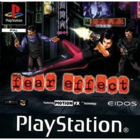 FEAR EFFECT (pal/import) PSX USATO