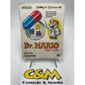 DR. Mario - Manuale Gioco (Game Boy JAP) USATO