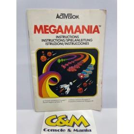 MEGAMANIA - Manuale Gioco (ATARI) USATO