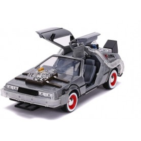DeLorean Time Machine Back to the Future III (1990) 1:24 Jada Toys