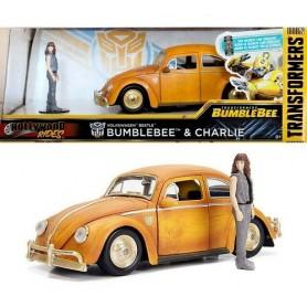 Beetle Bumblebee & Charlie - Jada Toys Hollywood Rides Volkswagen
