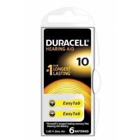 Duracell Hearing Aid 10 A10 (6pz)