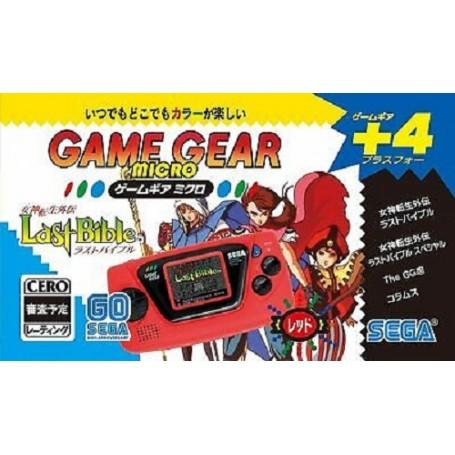 Sega Game Gear Micro Console Red 30th Anniv.
