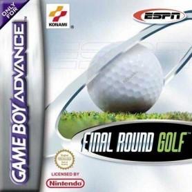 Final Round Golf ESPN Nintendo GBA USATO