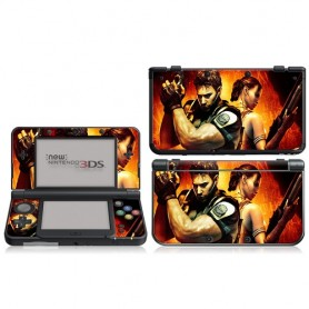 Set adesivi Full Stick (Res) Many design NEW 3DS XL