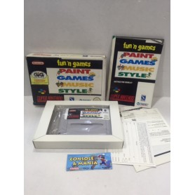 FUN'N GAMES FAMICOM/NES PAL USATO