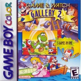 Game & Watch Gallery 2 +Istruz. (solo card) Nintendo GAME BOY USATO