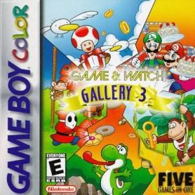 Game & Watch Gallery 3 + iistruz. (solo card) Nintendo GAME BOY USATO