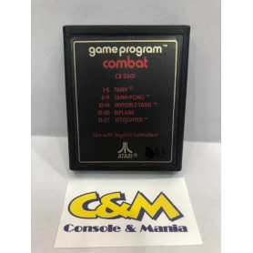 GAME PROGRAM COMBAT 5 games ATARI 2600 USATO