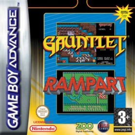 Gauntlet / Rampart Nintendo GAME BOY USATO