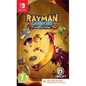 Rayman Legends D. Edition Code in Box Switch