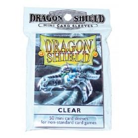 DRAGON SHIELD Proteggi carte Mini pacco da 50 bustine Clear