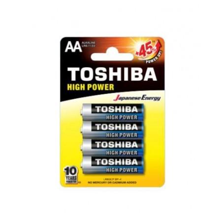 Blister 4 Batterie Alkaline Toshiba - MiniStilo AA