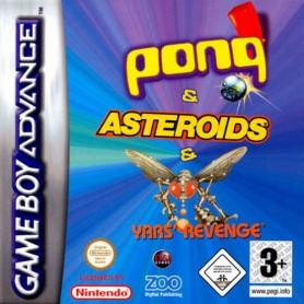 3 in 1 - Asteroids GBA (solo cartuccia) USATO