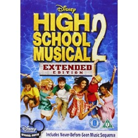 High School Musical 2 (solo disco) DVD USATO