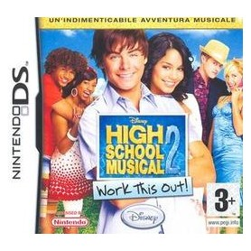 HIGH SCHOOL musical 2-DS PAL USATO