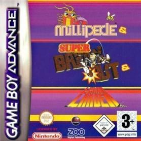3 In 1 - Super Breakout + (solo card) Nintendo GBA USATO