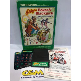 LAS VEGAS POKER & BLACKJACK Mattel Intellivision USATO