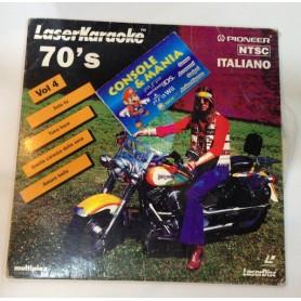 LASER KARAOKE 70' s LASER DISC