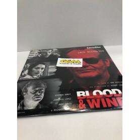 Laserdisc Blood & Wine Jack Nicholson PAL (mai aperto) USATO