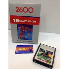 ATARI 2600 multi game 16 in 1compatibile (leggi info)PAL USATO
