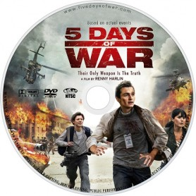5 DAYS OF WAR (solo disco) DVD- USATO