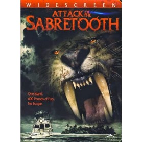 Attack of the Sabretooth (solo disco) DVD USATO