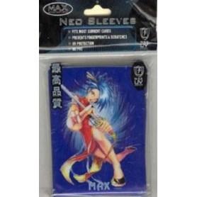 Max Protection 50er Kung Fu Girl Protectors Jap. Blue
