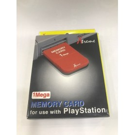 Memory Card 1 MB Xtreme PSX (Red)