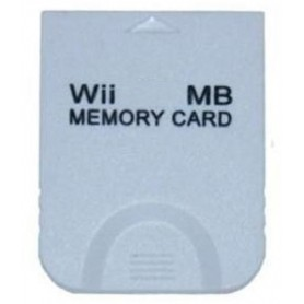 MEMORY CARD 128 MB compatibile  GC/WII