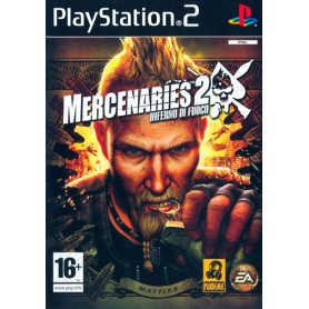 MERCENARIES 2 PS2 no platinum