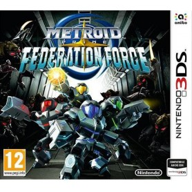 Metroid Prime Federation Force 3DS USATO