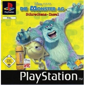 Monster & CO (pal/import) PSX USATO